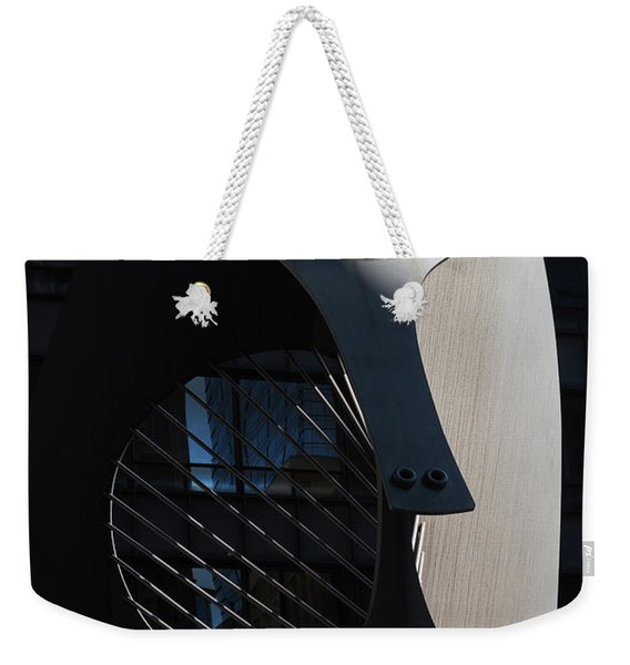 Picasso Sculpture Chicago Morning Weekender Tote Bag