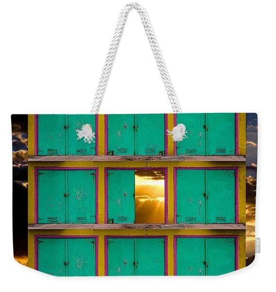 Pick A Door Weekender Tote Bag