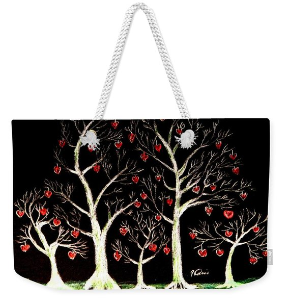 The Valentine Forest Weekender Tote Bag