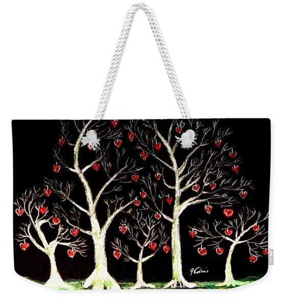 The Valentine Forest Weekender Tote Bag