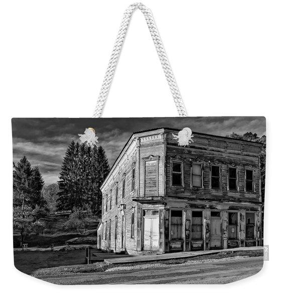 Pickens Wv Monochrome Weekender Tote Bag