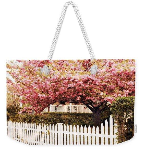 Picket Fence Charm Weekender Tote Bag