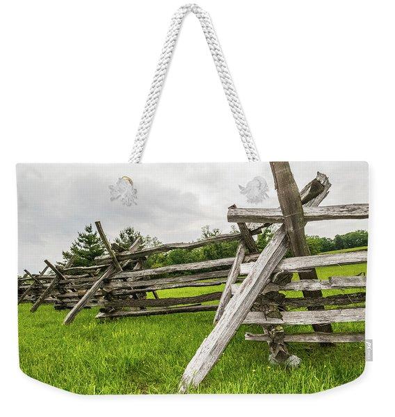 Picket Fence Weekender Tote Bag