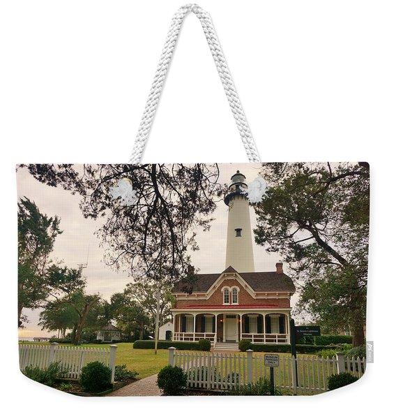 Picket Light Weekender Tote Bag