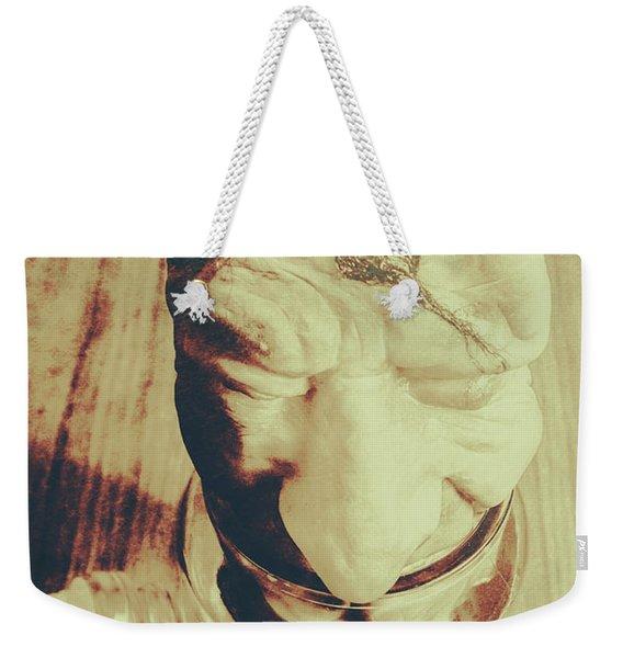 Pickle Me Grandfather Weekender Tote Bag