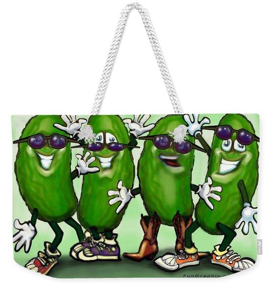 Pickle Party Weekender Tote Bag