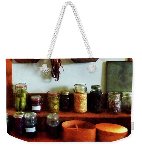 Pickles Beans And Jellies Weekender Tote Bag
