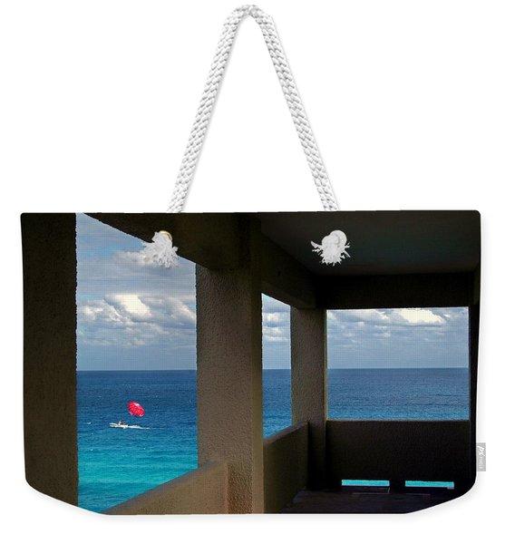 Picture Windows Weekender Tote Bag