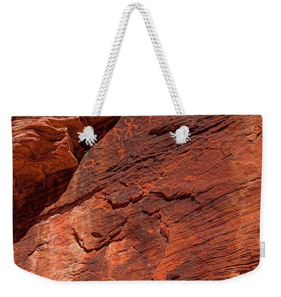 Pictures In The Rocks Weekender Tote Bag