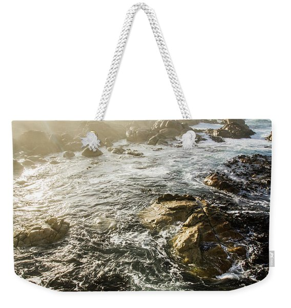 Picturesque Australian Beach Landscape Weekender Tote Bag
