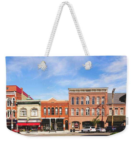 Picturesque Exeter, New Hampshire Weekender Tote Bag