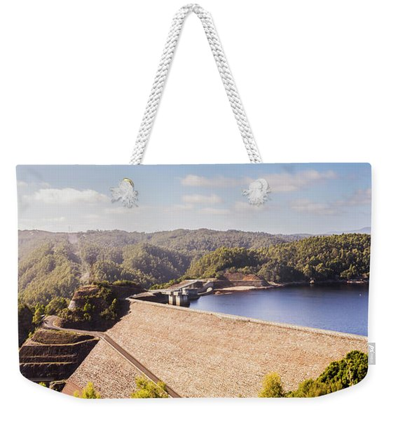 Picturesque Hydroelectric Dam Weekender Tote Bag