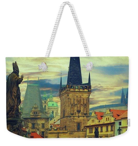 Picturesque - Prague Weekender Tote Bag