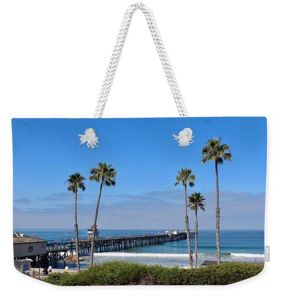 Pier And Palms Weekender Tote Bag