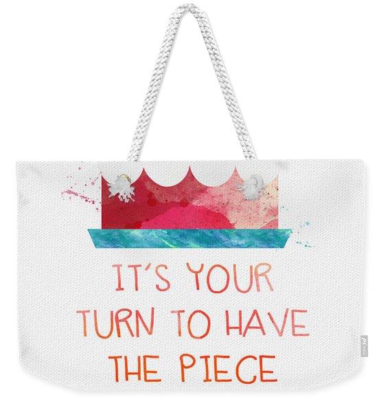 Piece Of Cake- Card Weekender Tote Bag