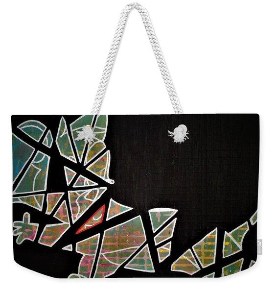 Pieces Weekender Tote Bag