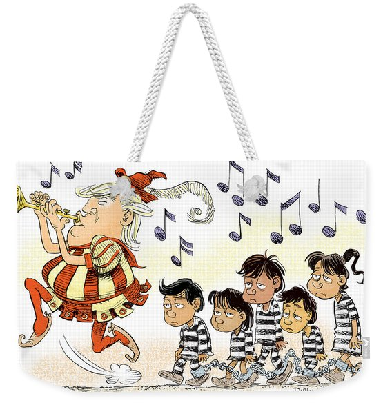 Pied Piper Trump And Infestation Weekender Tote Bag