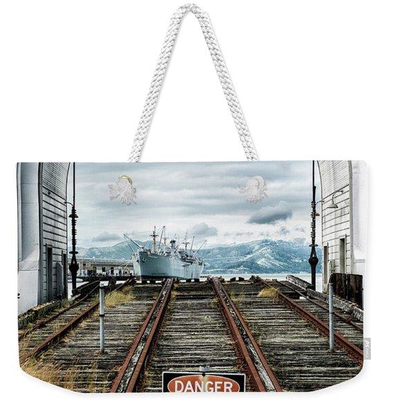 Pier 43 Ferry Arch San Francisco California Weekender Tote Bag