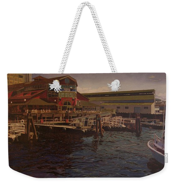 Pier 55 - Red Robin Weekender Tote Bag