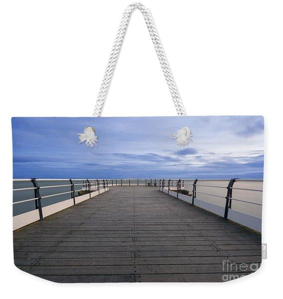 Pier End Weekender Tote Bag