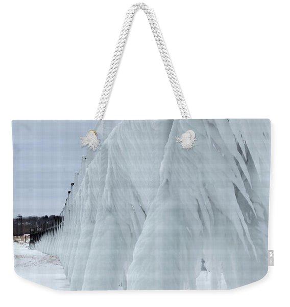 Pier Ice Weekender Tote Bag