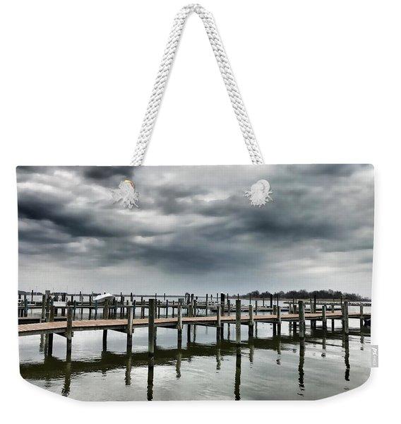 Pier Pressure Weekender Tote Bag