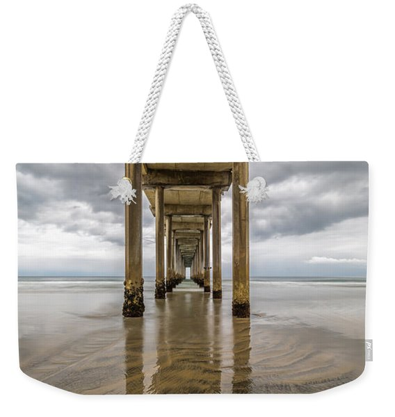 Pier Review Weekender Tote Bag
