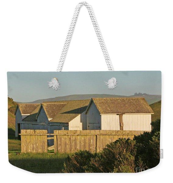 Pierce Pt. Buildings Weekender Tote Bag