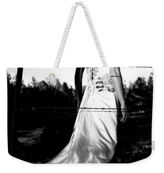 Pierced Dress Weekender Tote Bag