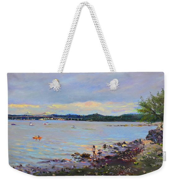 Piermont Shore Ny Weekender Tote Bag