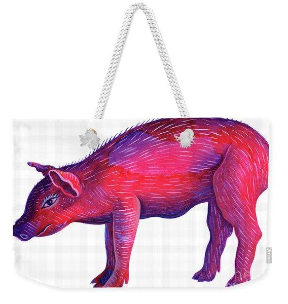 Pig Weekender Tote Bag