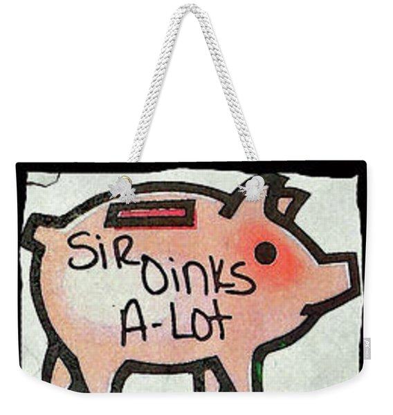 Pig Party Weekender Tote Bag