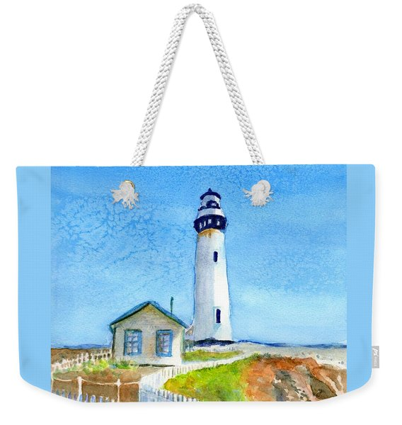 Pigeon Point Lighthouse California Weekender Tote Bag