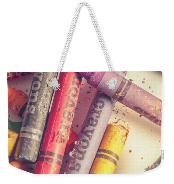 Pigment In Play Weekender Tote Bag