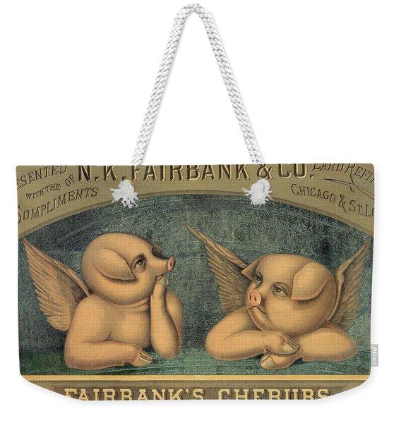 Pigs With Wings Weekender Tote Bag