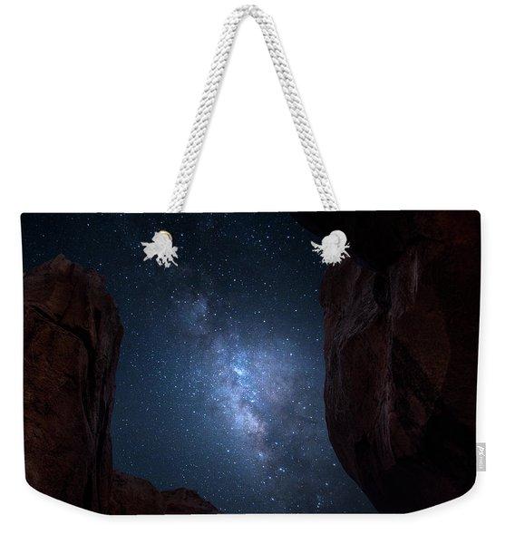 Pike National Forest Milky Way Weekender Tote Bag