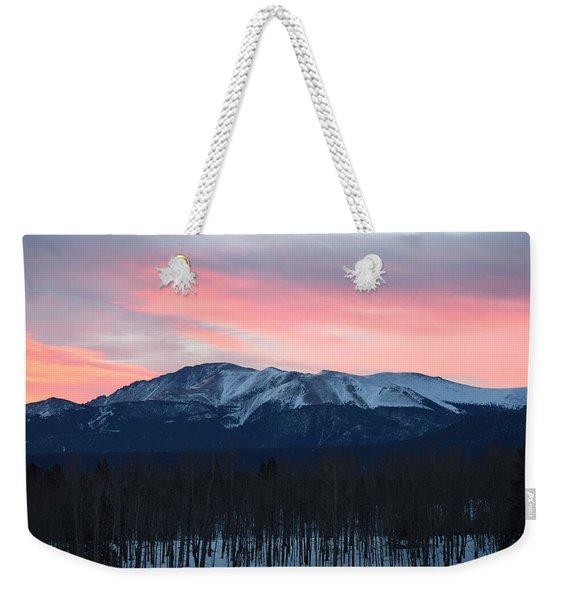 Sunrise Pikes Peak Co Weekender Tote Bag