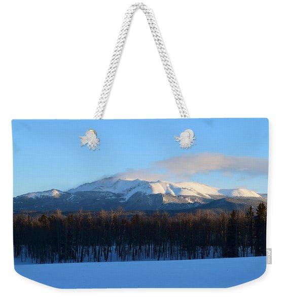 Pikes Peak From Cr511 Divide Co Weekender Tote Bag