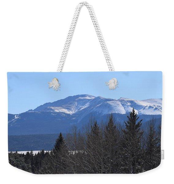 Pikes Peak Cr 511 Divide Co Weekender Tote Bag