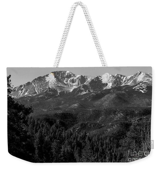 Pikes Peak Spring Weekender Tote Bag