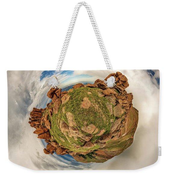 Pikes Peak Tiny Planet #2 Weekender Tote Bag