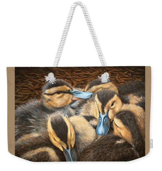 Pile O' Ducklings Weekender Tote Bag