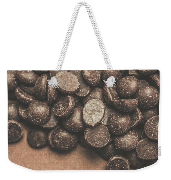 Pile Of Chocolate Chip Chunks Weekender Tote Bag