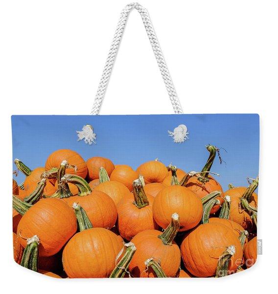 Pile Of Pumpkins Weekender Tote Bag