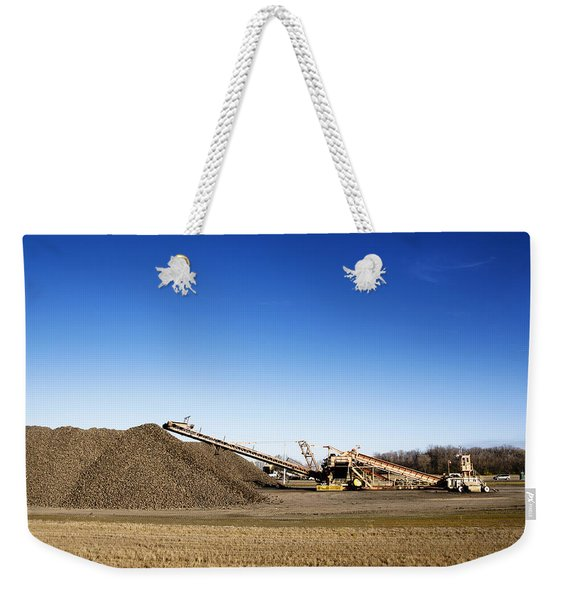 Pile Of Sugar Beets Weekender Tote Bag