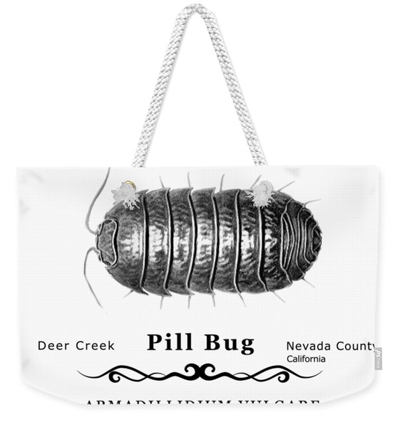 Pill Bug Armadillidium Vulgare Weekender Tote Bag