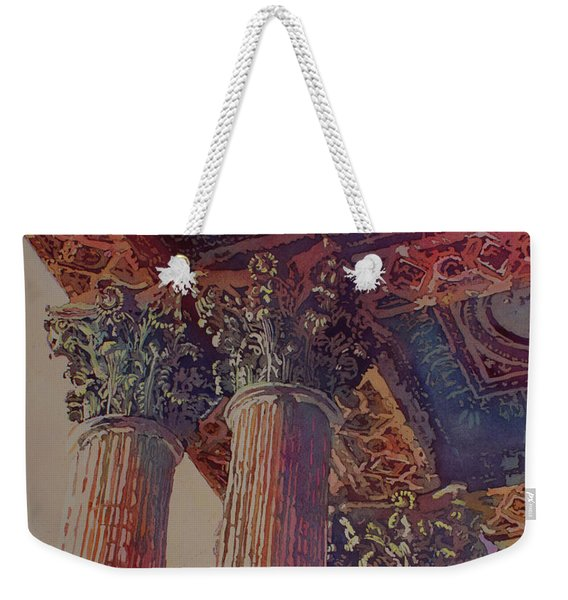 Pillars Of The Humanities Weekender Tote Bag