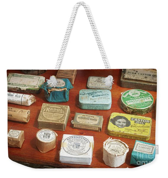 Pills, Powders And Ointments Weekender Tote Bag