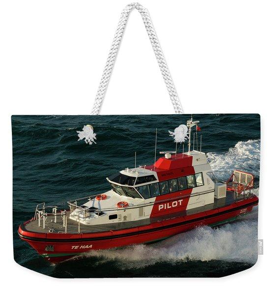 Pilot Boat Wellington Weekender Tote Bag