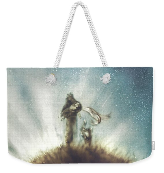 Pilot, Little Prince And Fox Weekender Tote Bag